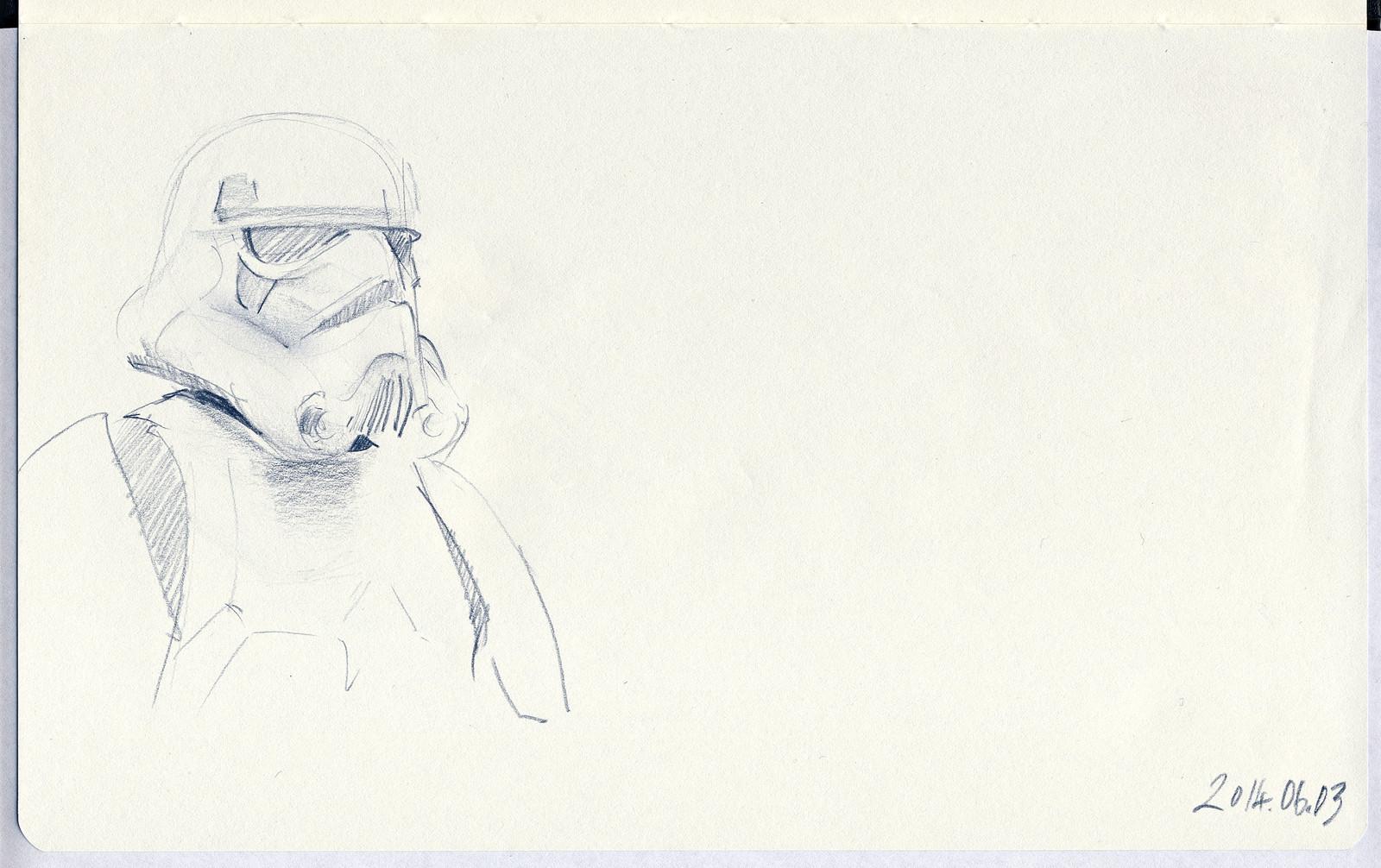 Stormtrooper, Skywalker Ranch, California (2014)