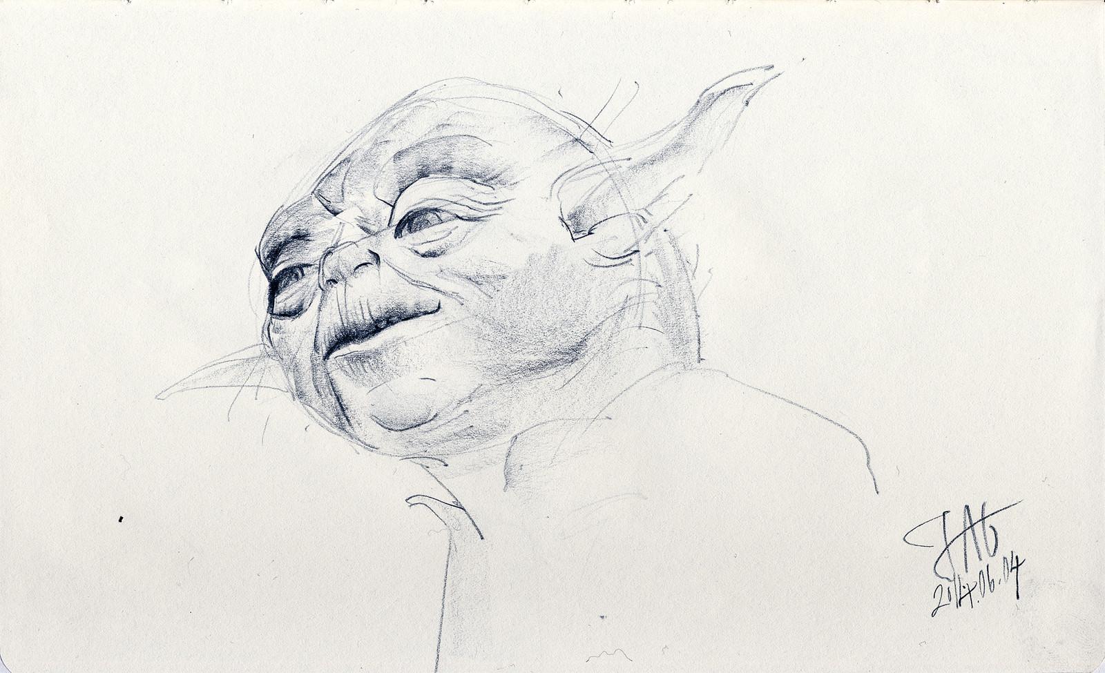 Yoda, Skywalker Ranch, California (2014)