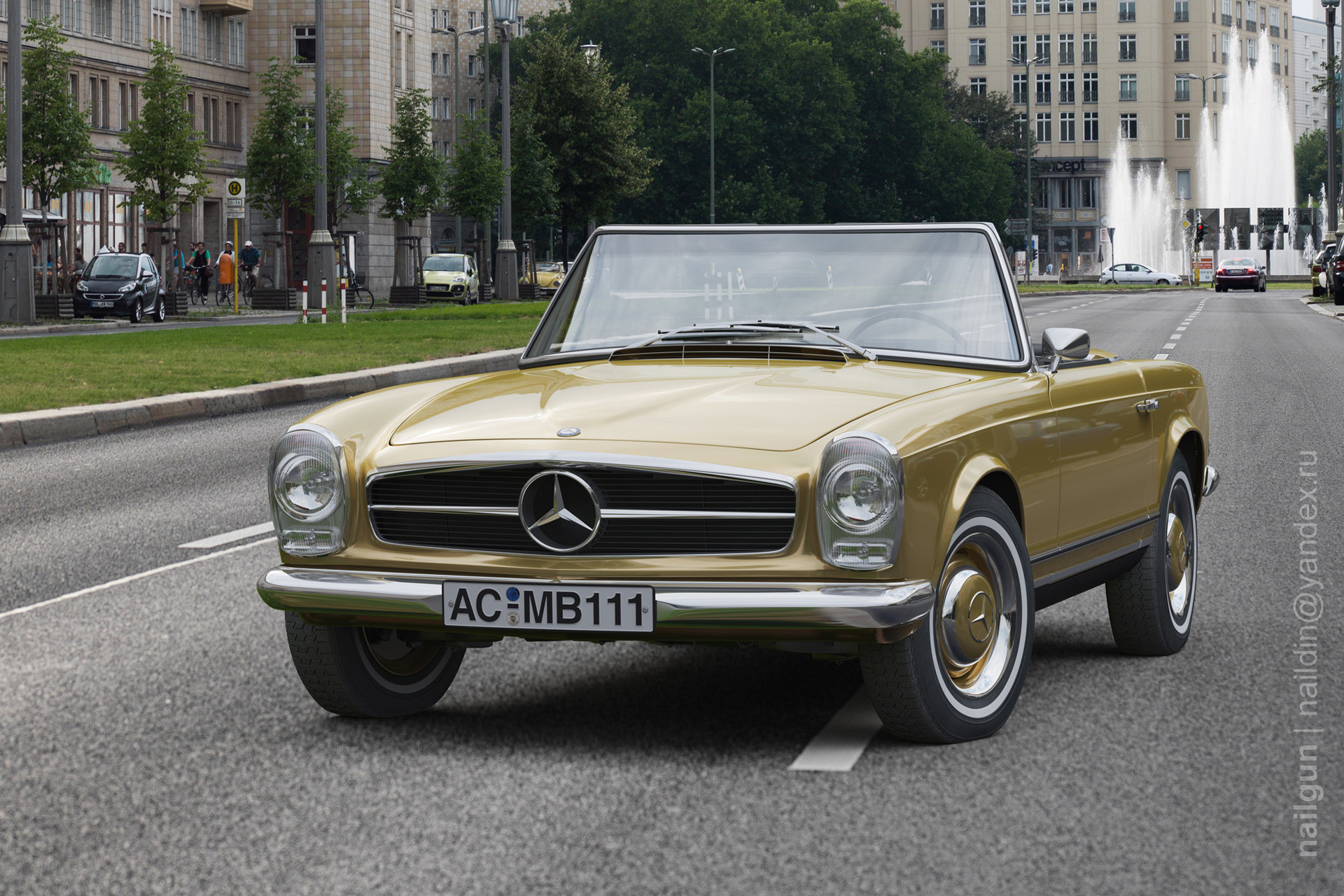 Nail khusnutdinov alw 002 010 mercedes 230sl pagode first page
