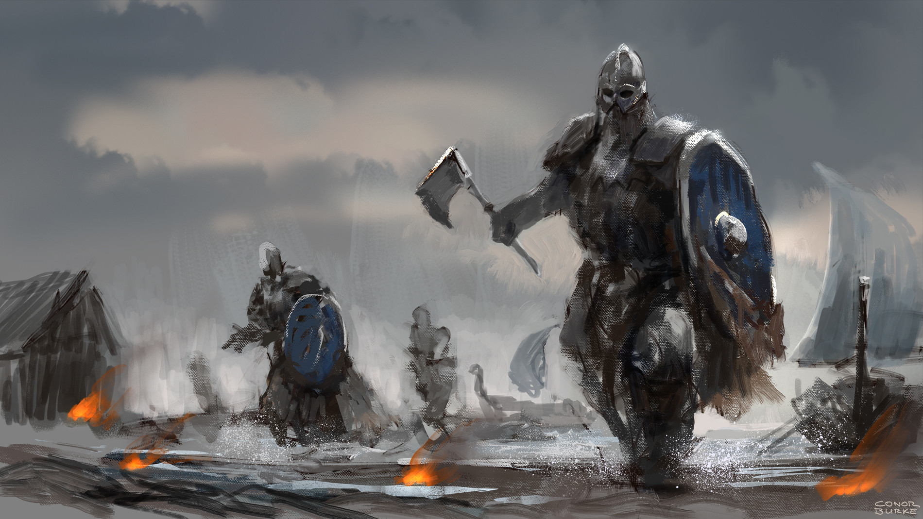Conor burke raid