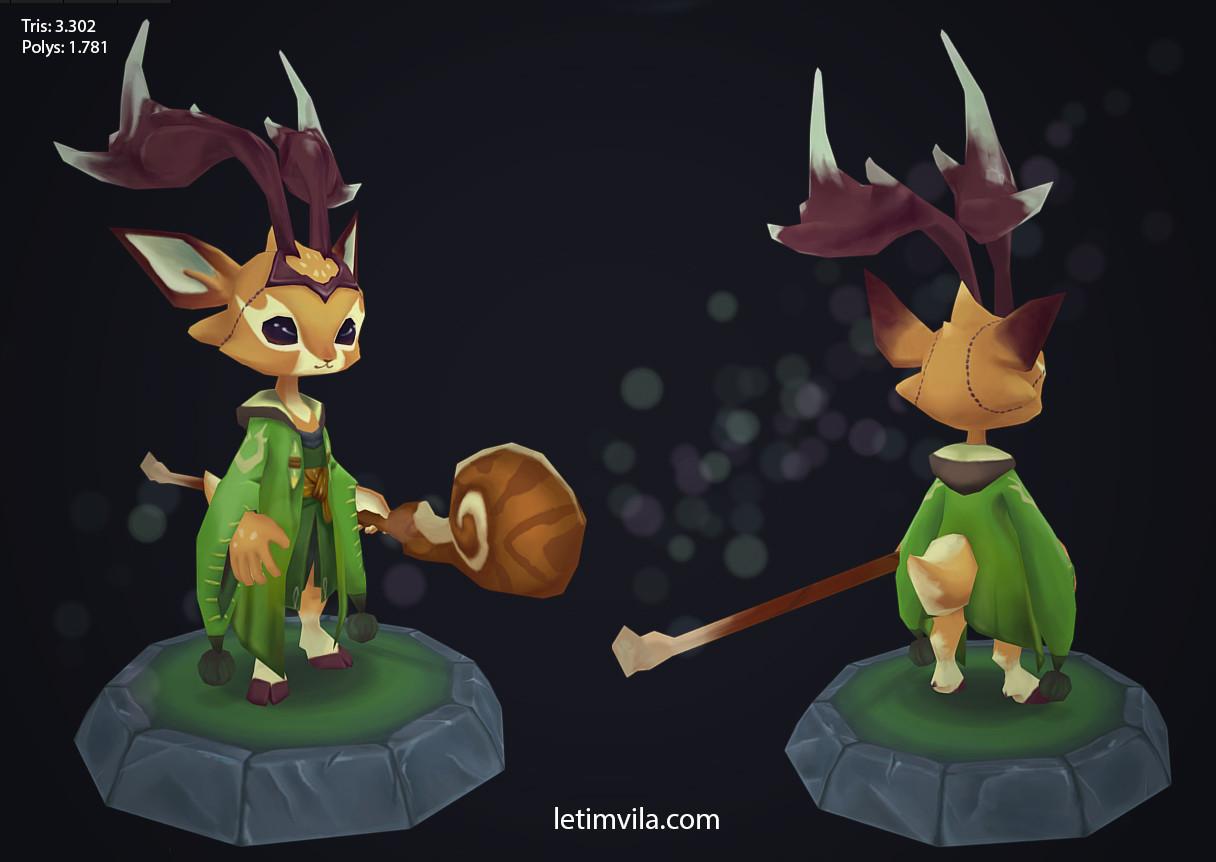 Druid deer