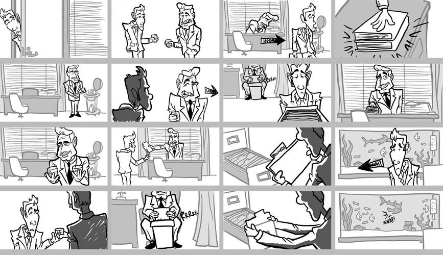 Steve rampton storyboard