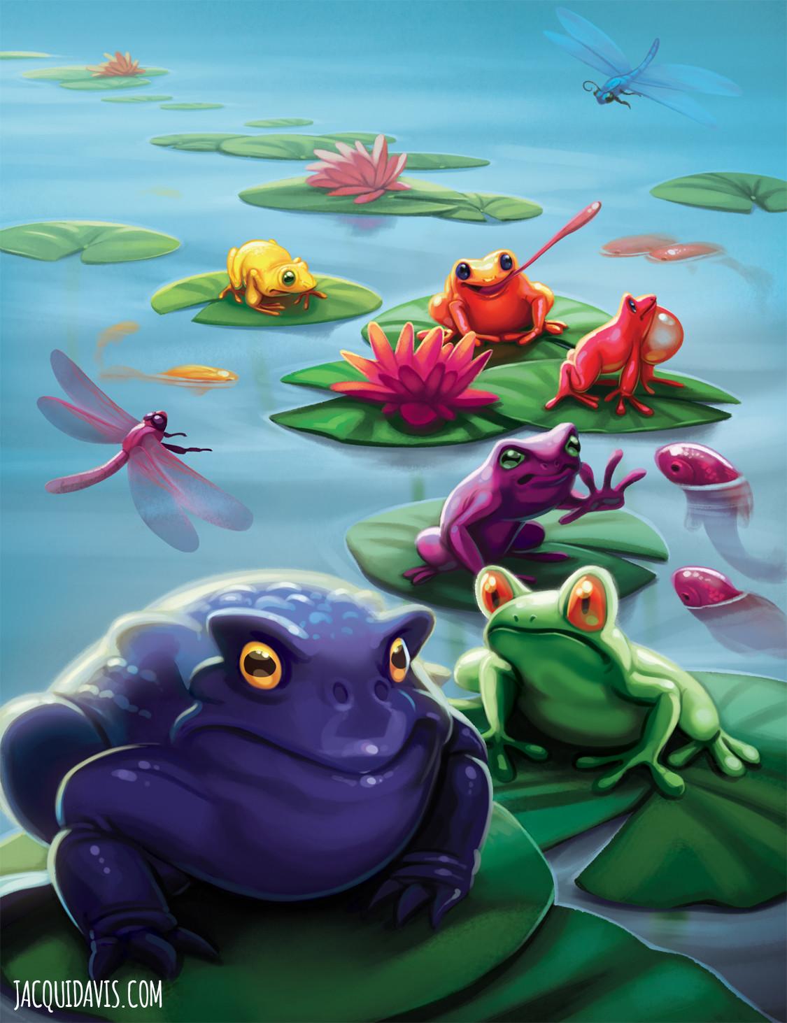Jacqui davis bullfrogs cover copy