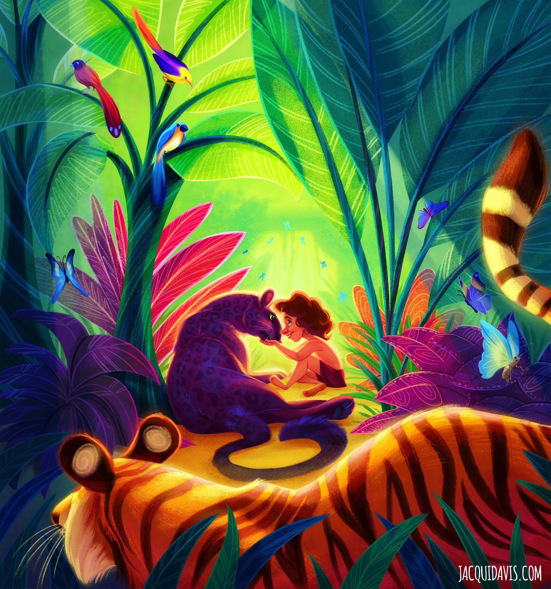 Jacqui davis jungle book copy