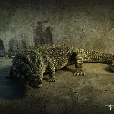 Dmytro teslenko crocodile by dmitryteslenko88 d7a0368