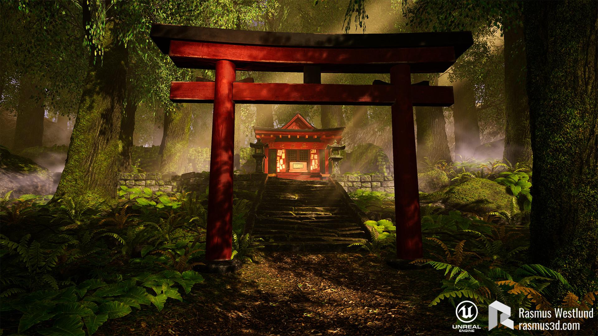 Rasmus westlund japanese shrine01