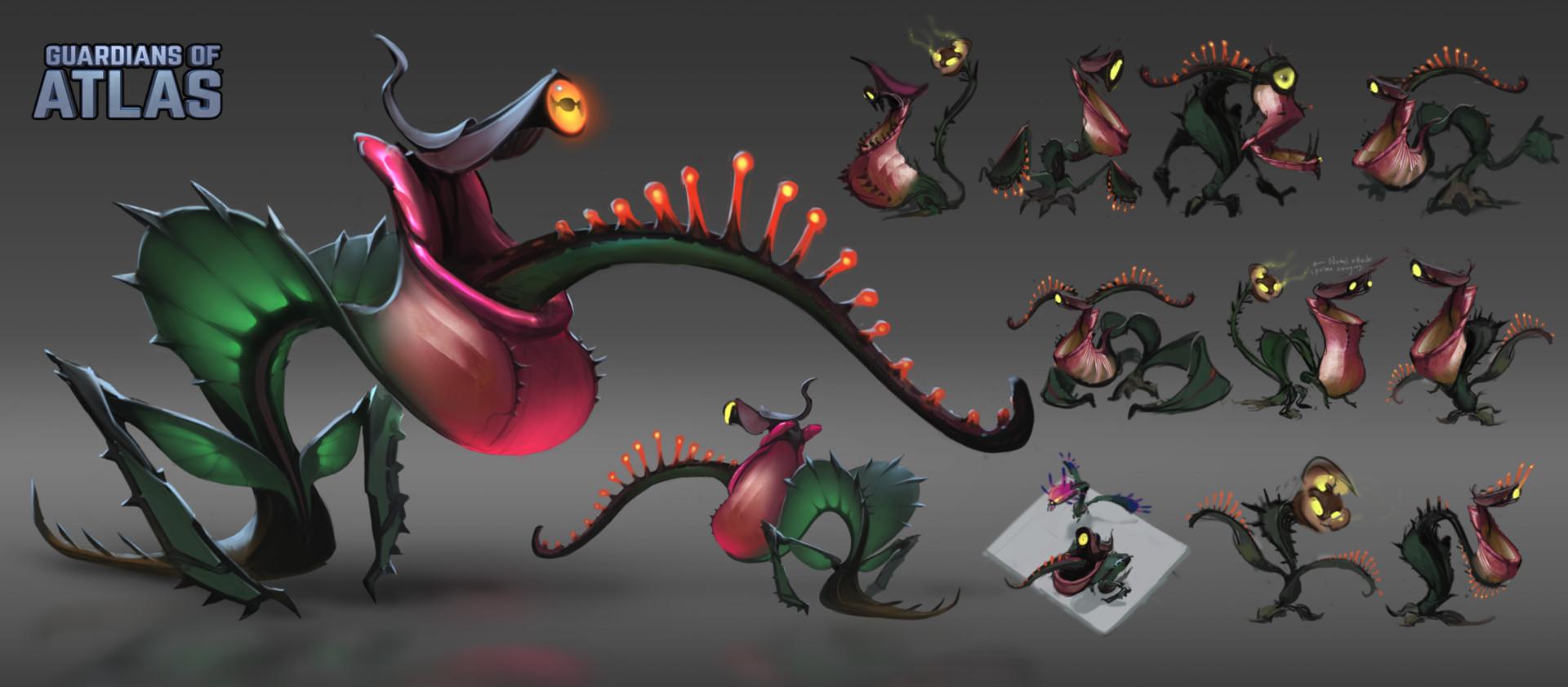 Concept Art Plant Monster