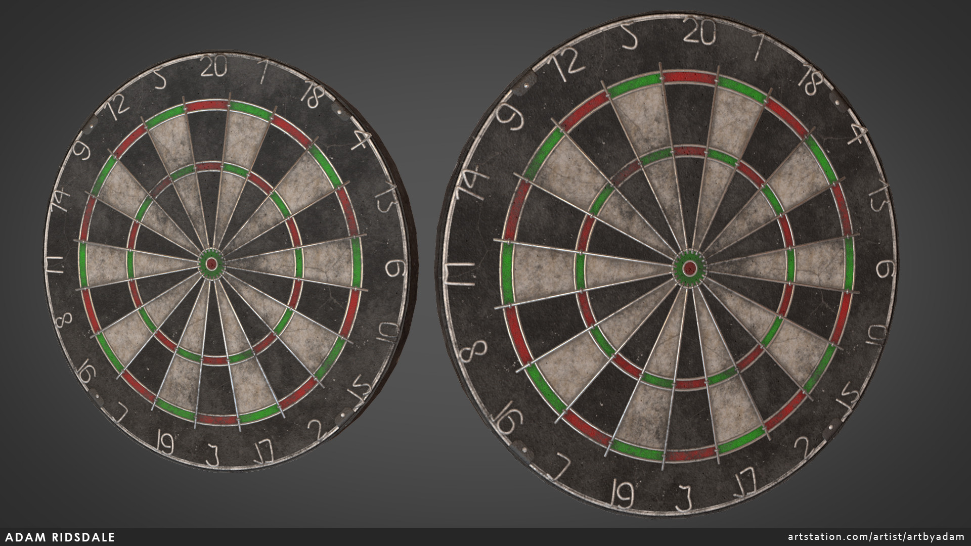 Adam ridsdale dartboard01