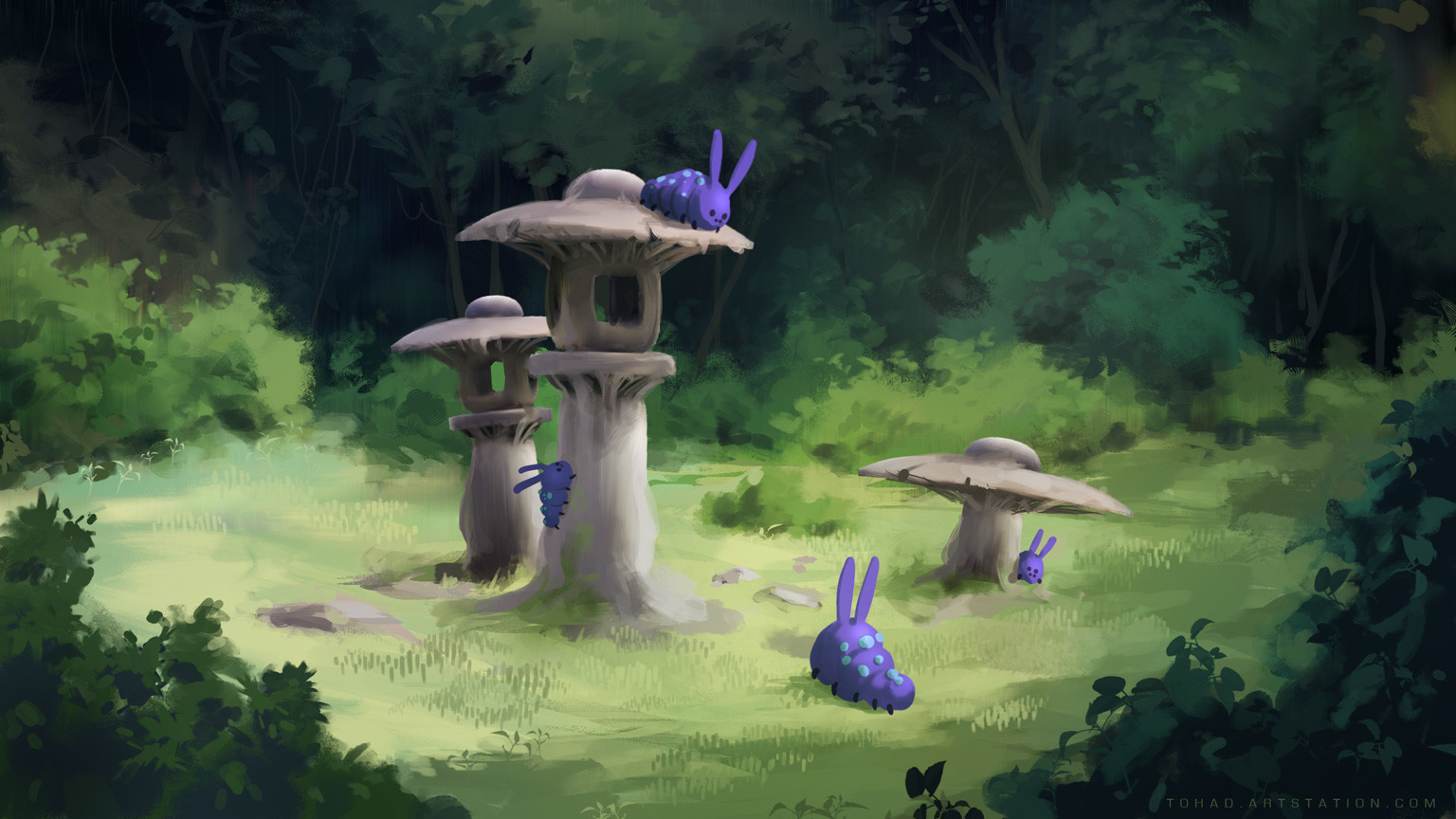 Speed painting THU