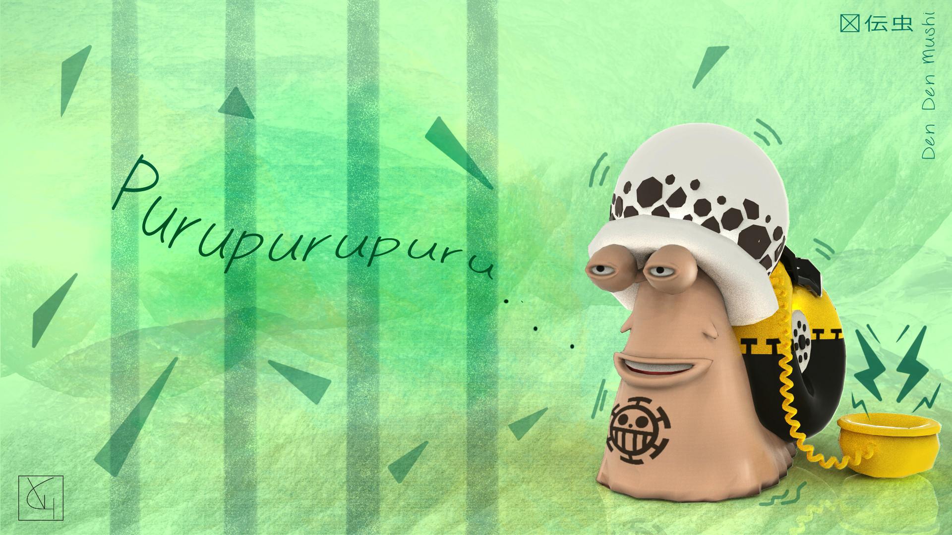 Veronica granadero den den mushi law comp