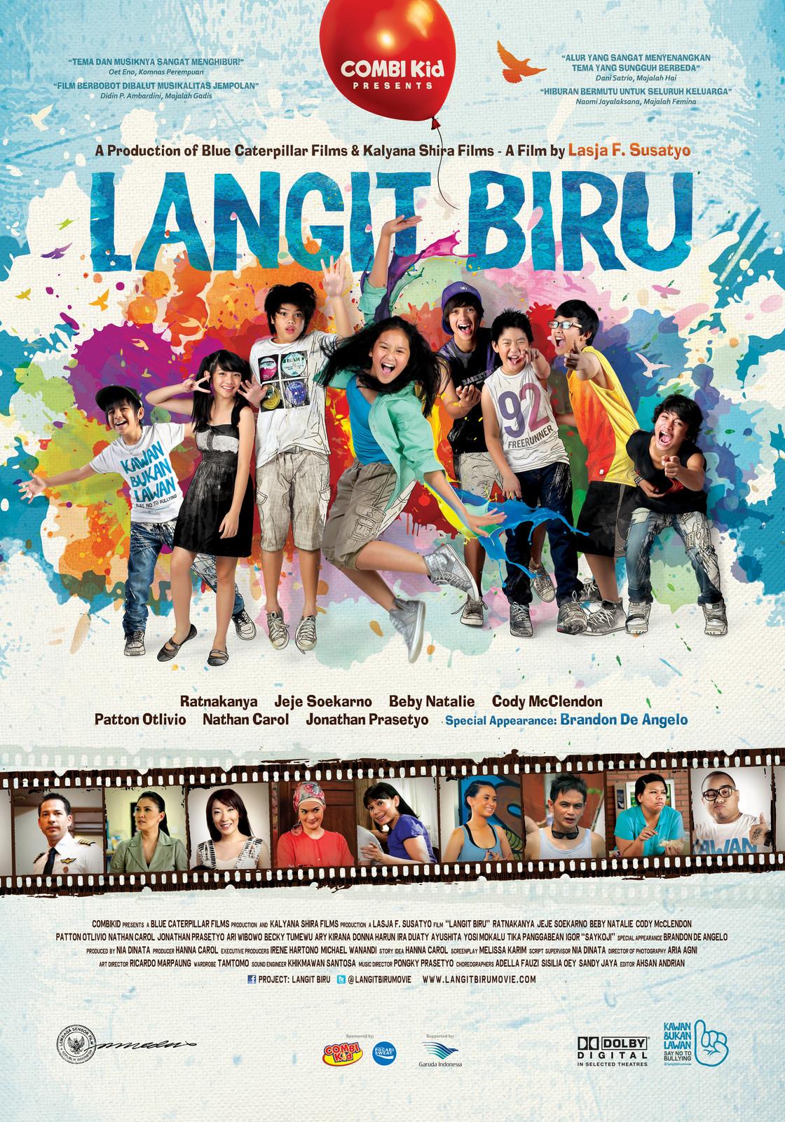 LANGIT BIRU Film Poster