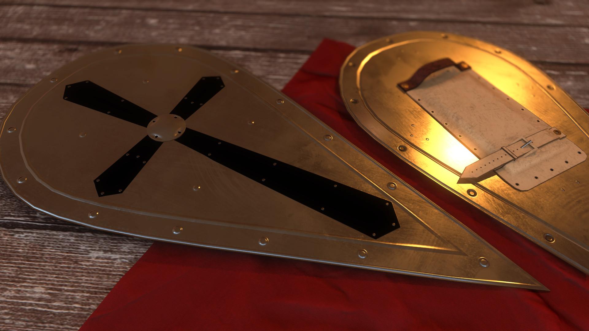 Bela csampai closeup shield 01