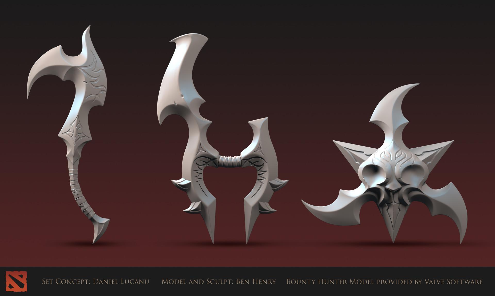 Ben henry bh weapons update