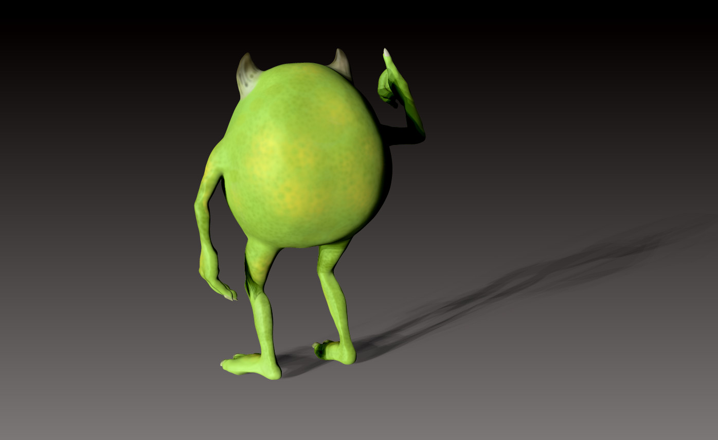Orza Raluca Pixar Monster Inc Mike Wazowski