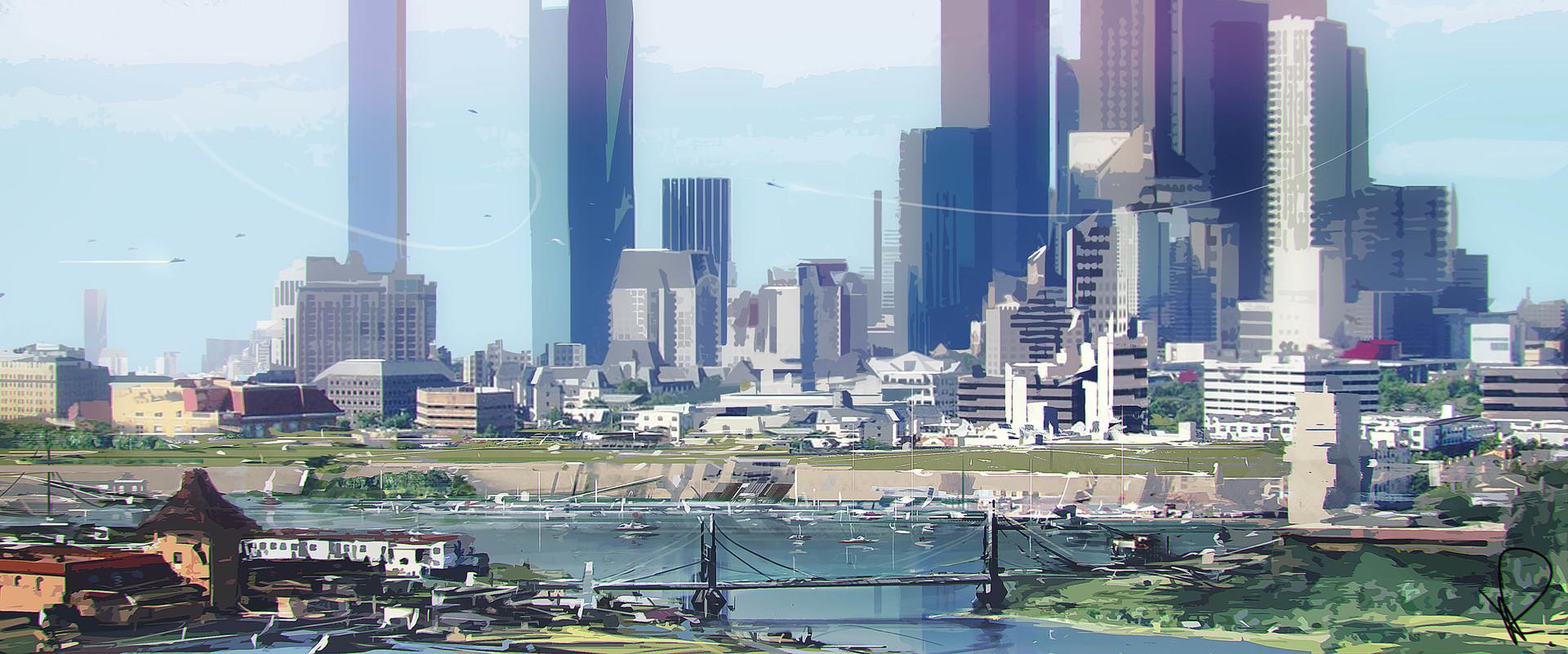 Marcin rubinkowski city stylize 2
