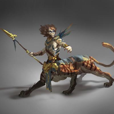 Sebastian horoszko 64 feline centaur
