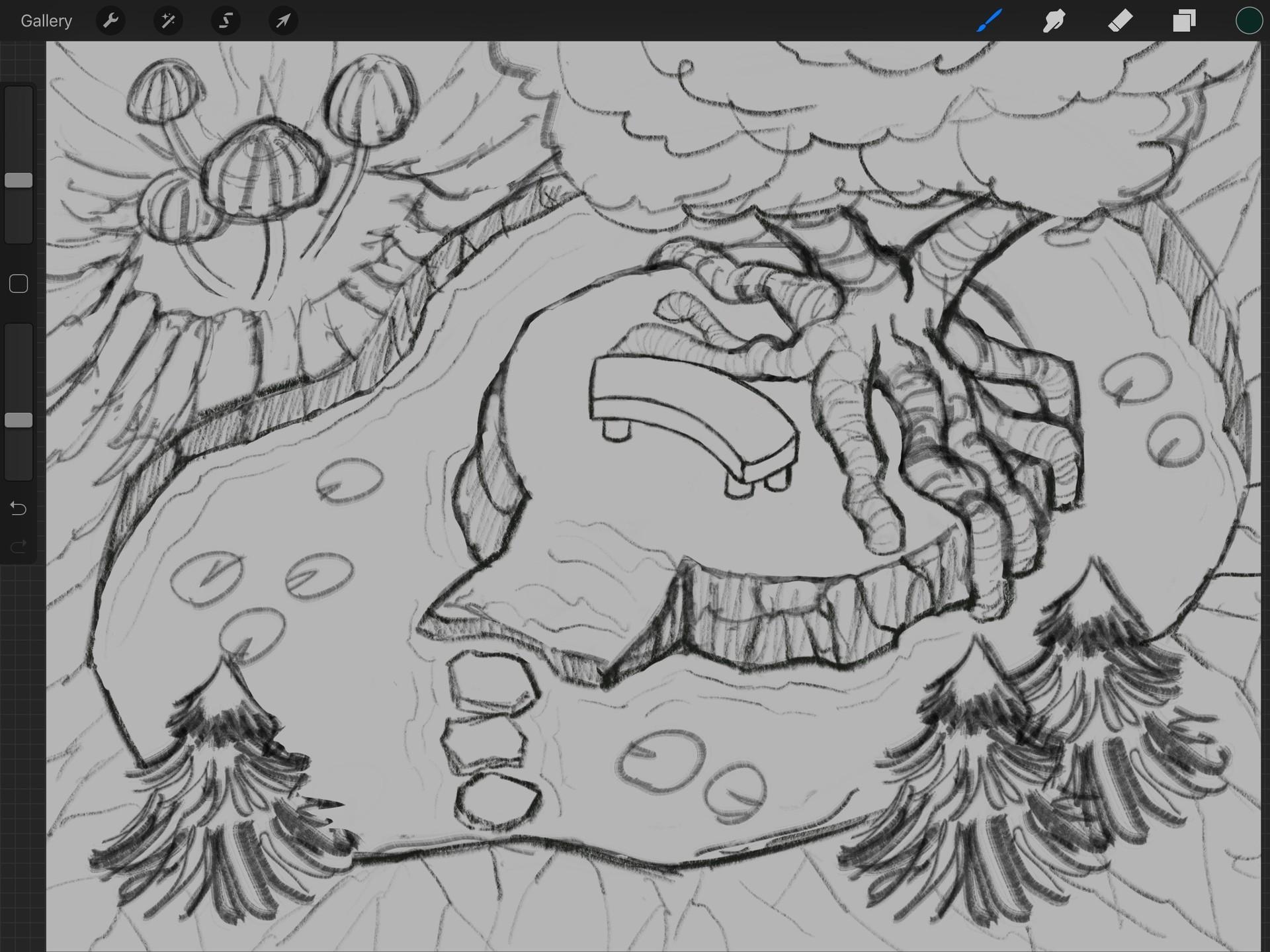 Process Step 1 - Sketch