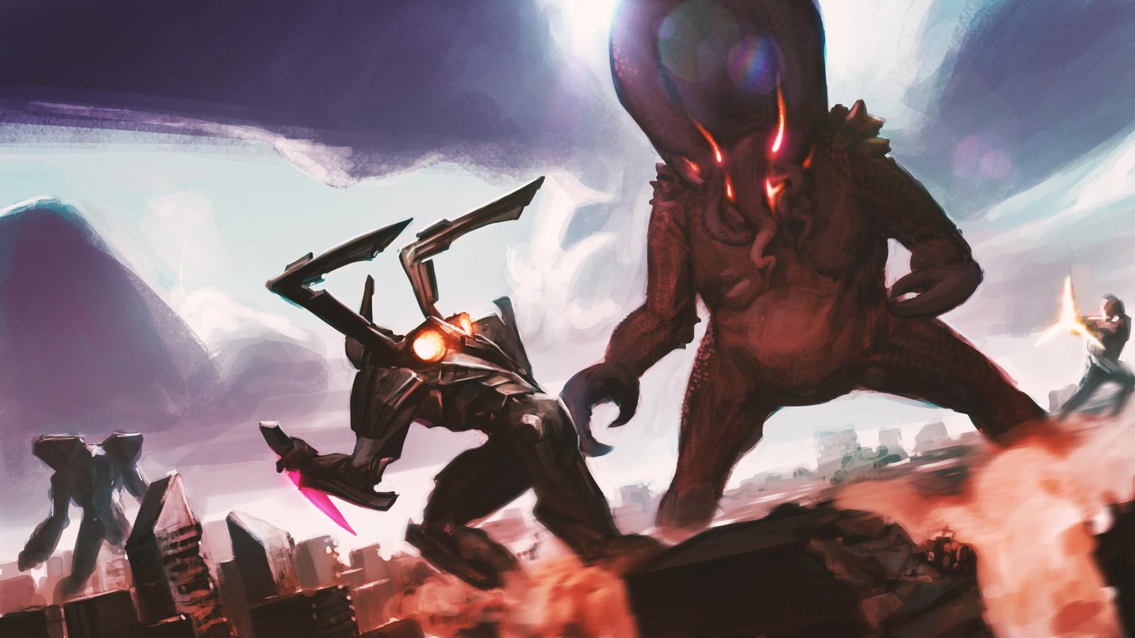 Kaiju Fight