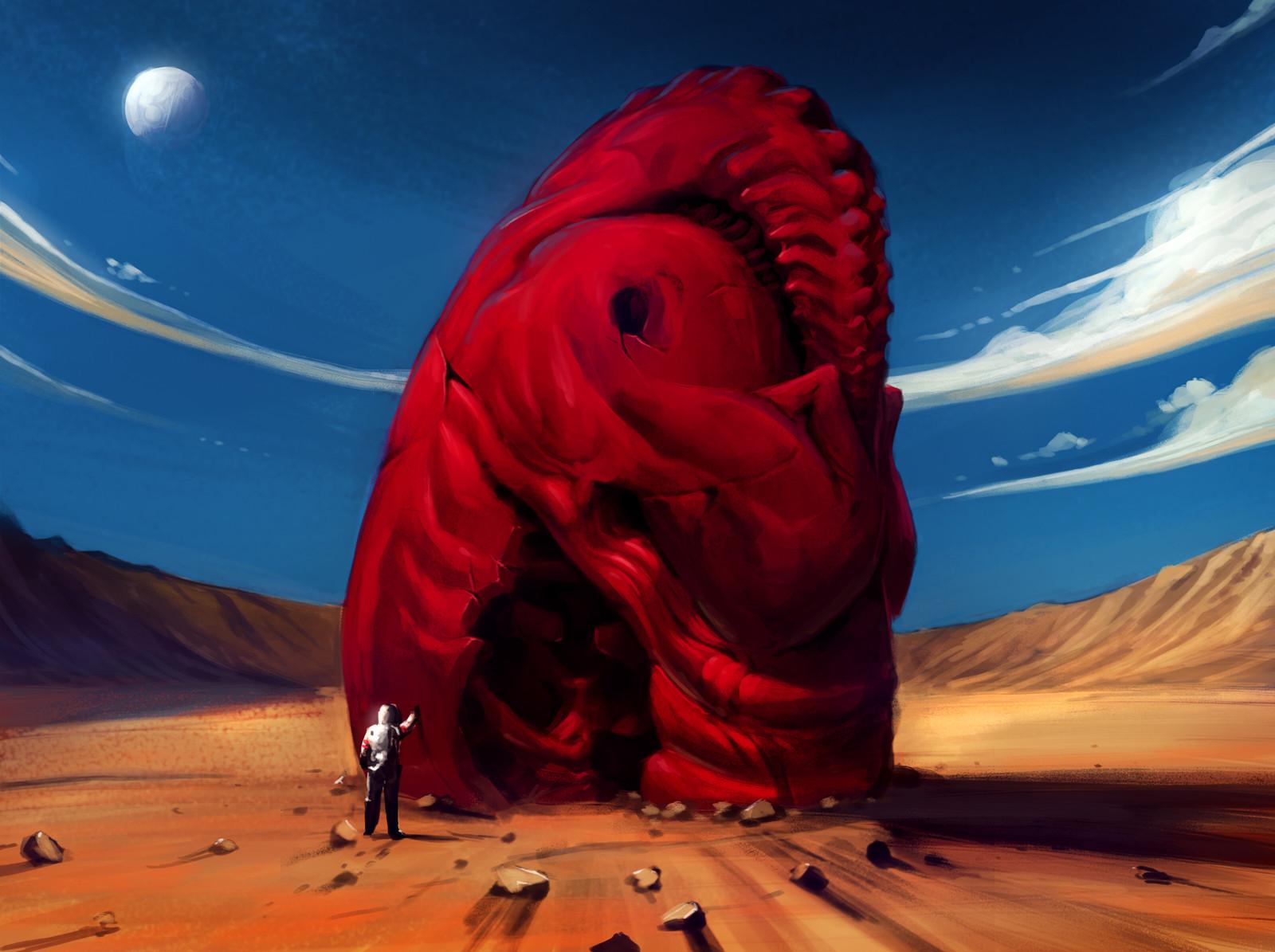 Kaiju space egg