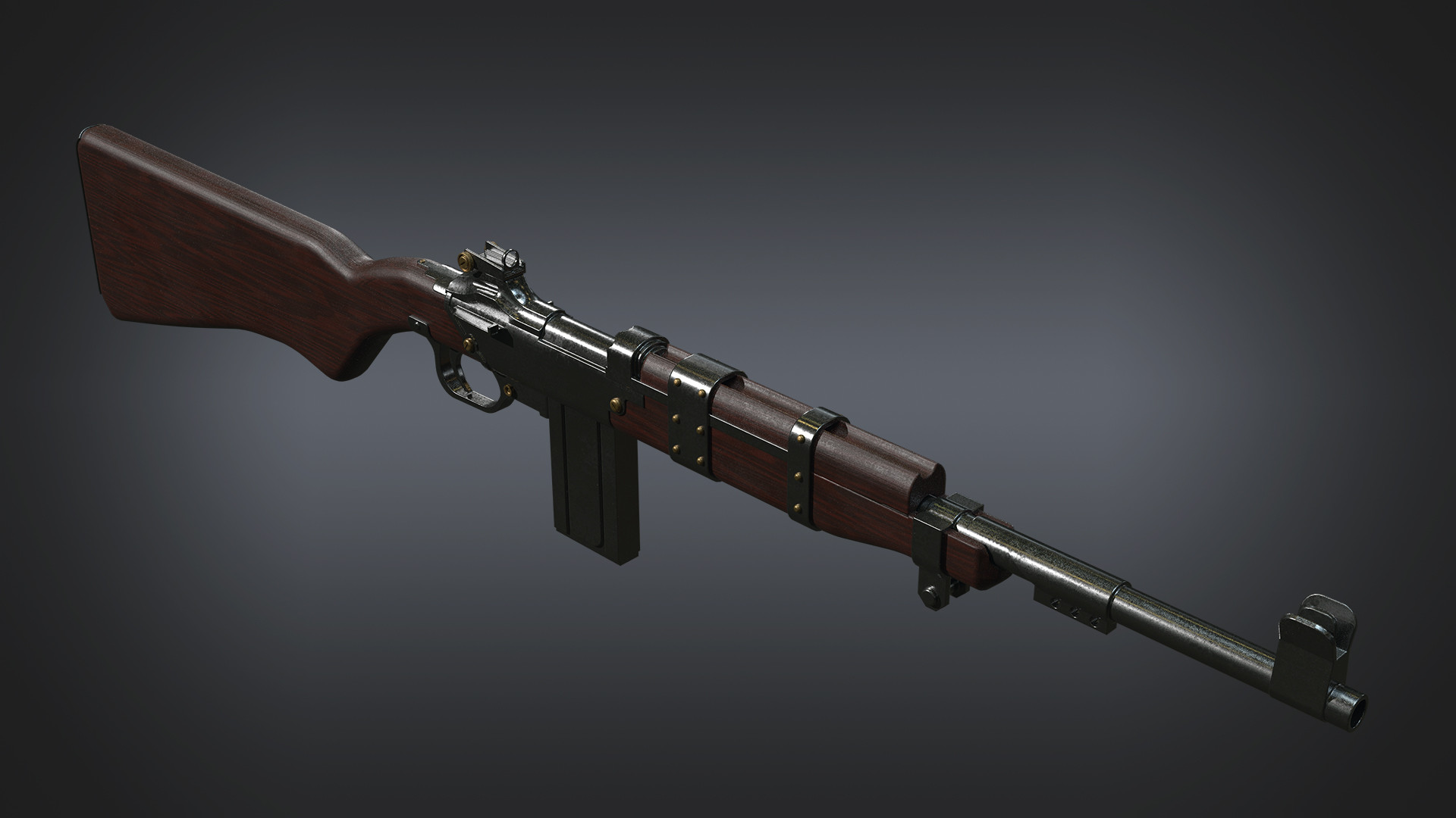 Jack Mckelvie Environment Artist Speed Modeling Carbine