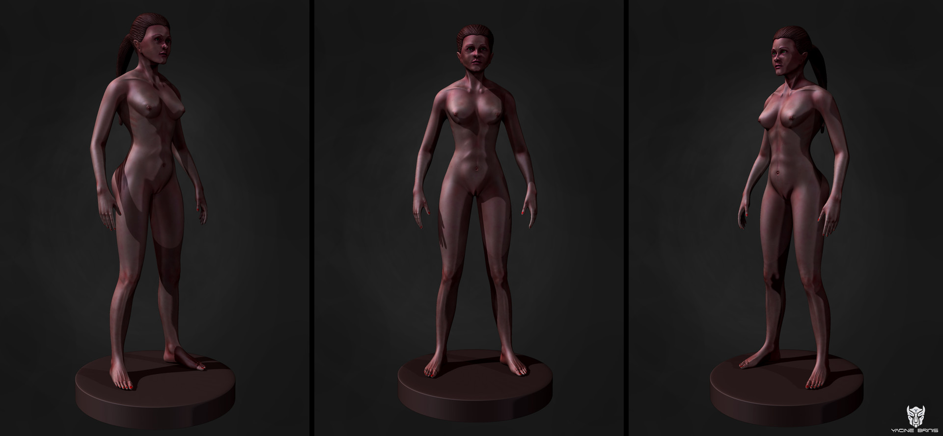 ArtStation - Female Anatomy, BRINIS Yacine