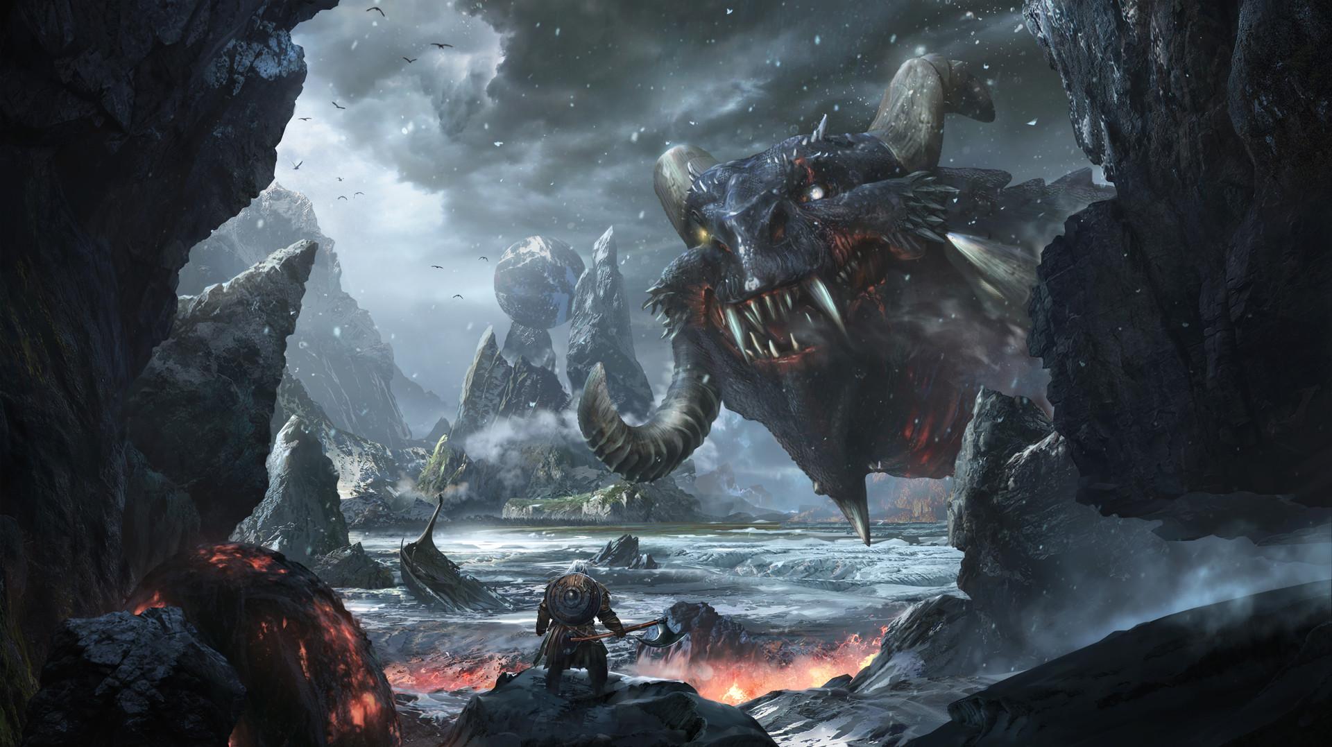 граде картинки викинг и дракон время