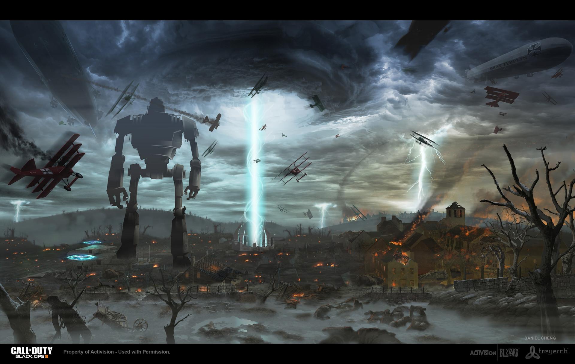 Artstation Call Of Duty Zombies Origins Concept Daniel Cheng