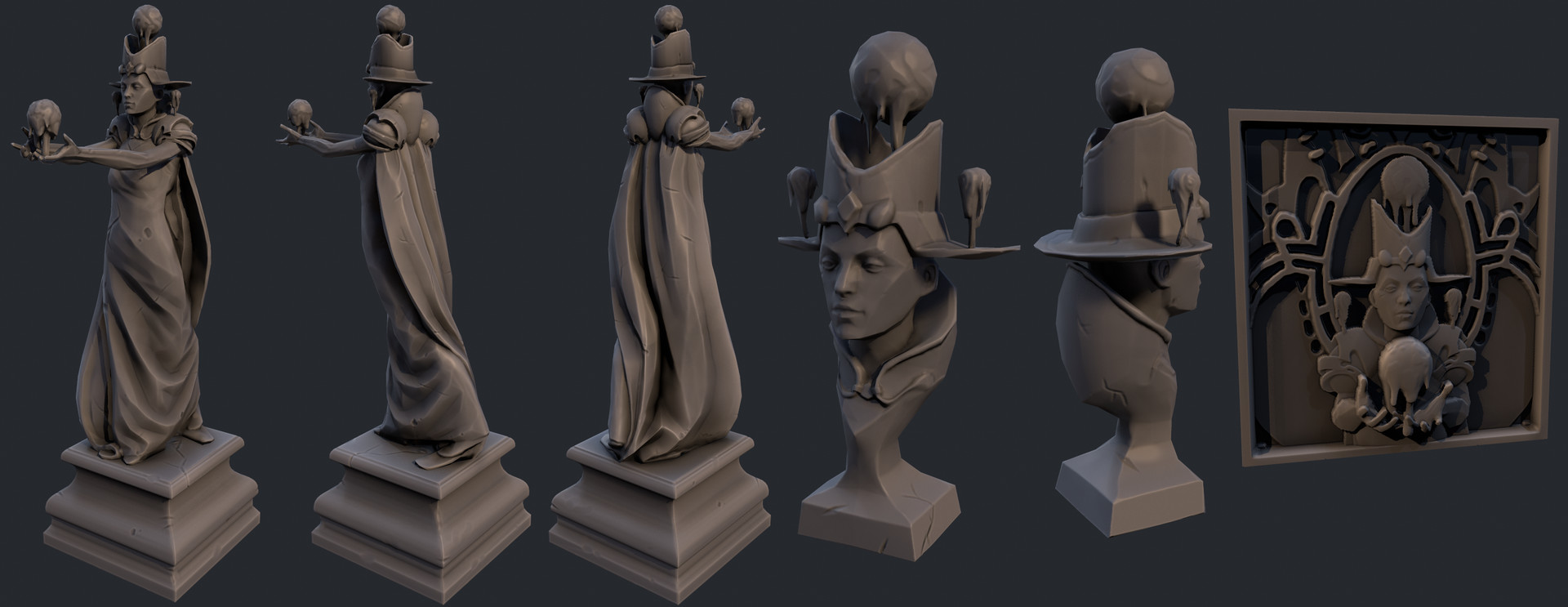 Dylan brady render statue