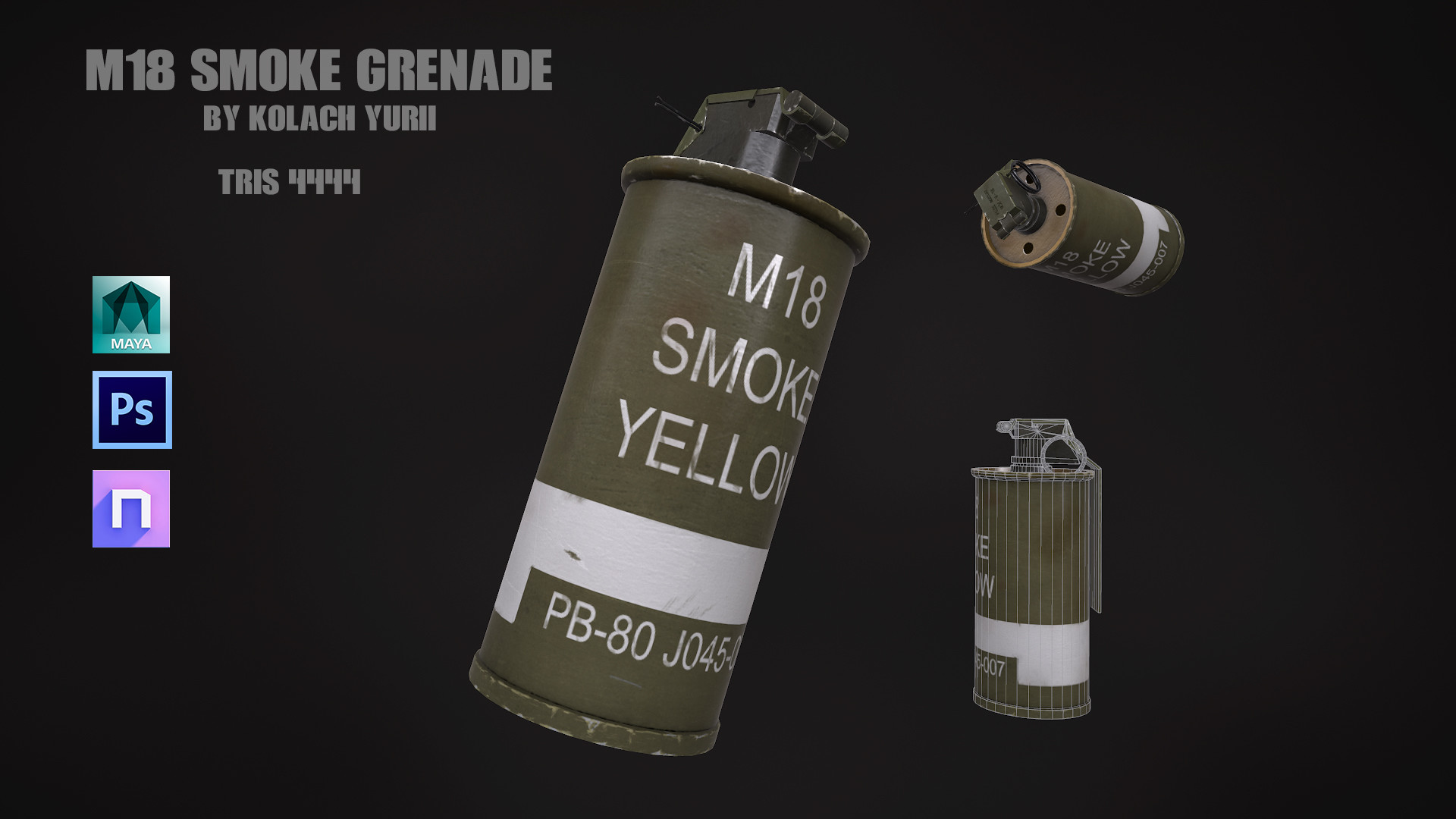 Yurii Kolach - M18 Smoke Grenade
