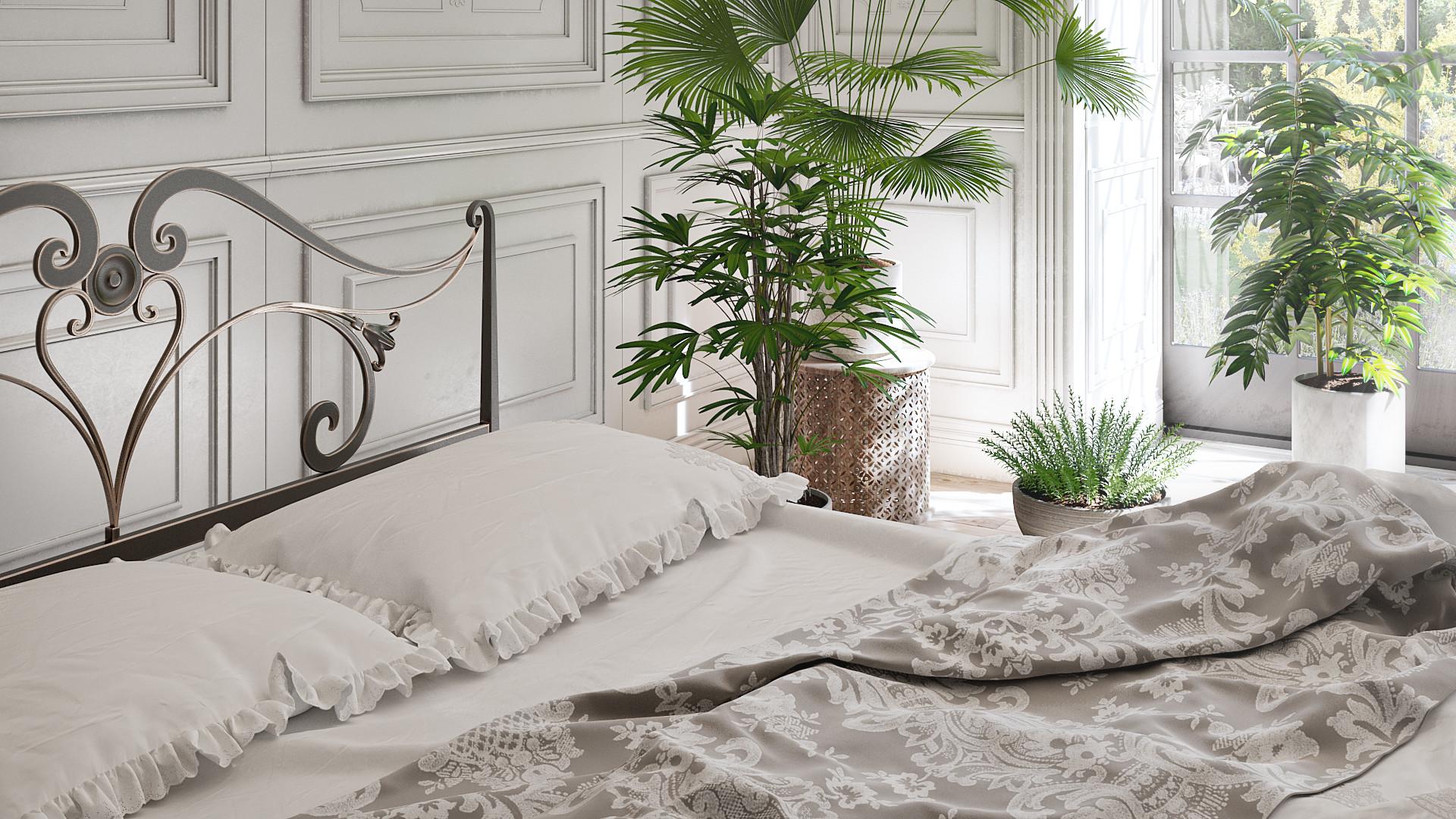 ArtStation - Bedroom with a View, Stefanie Chapman