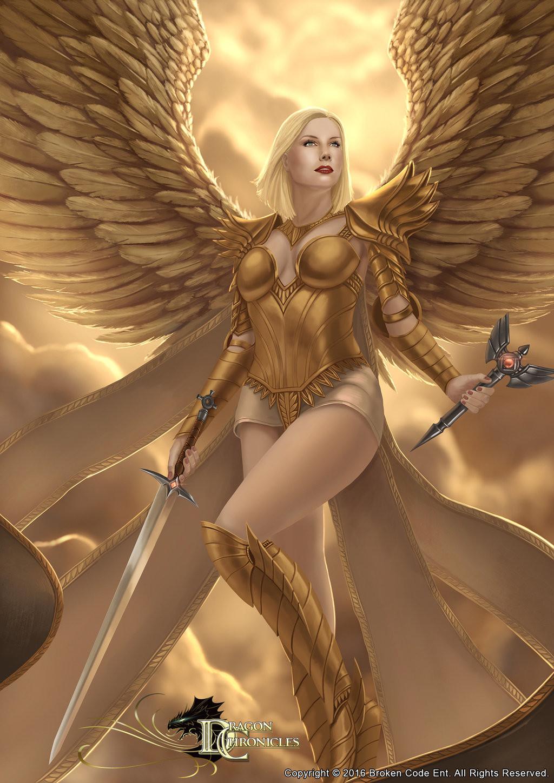 Robert crescenzio dragon chronicles angel of light by robertcrescenzio dajnx77