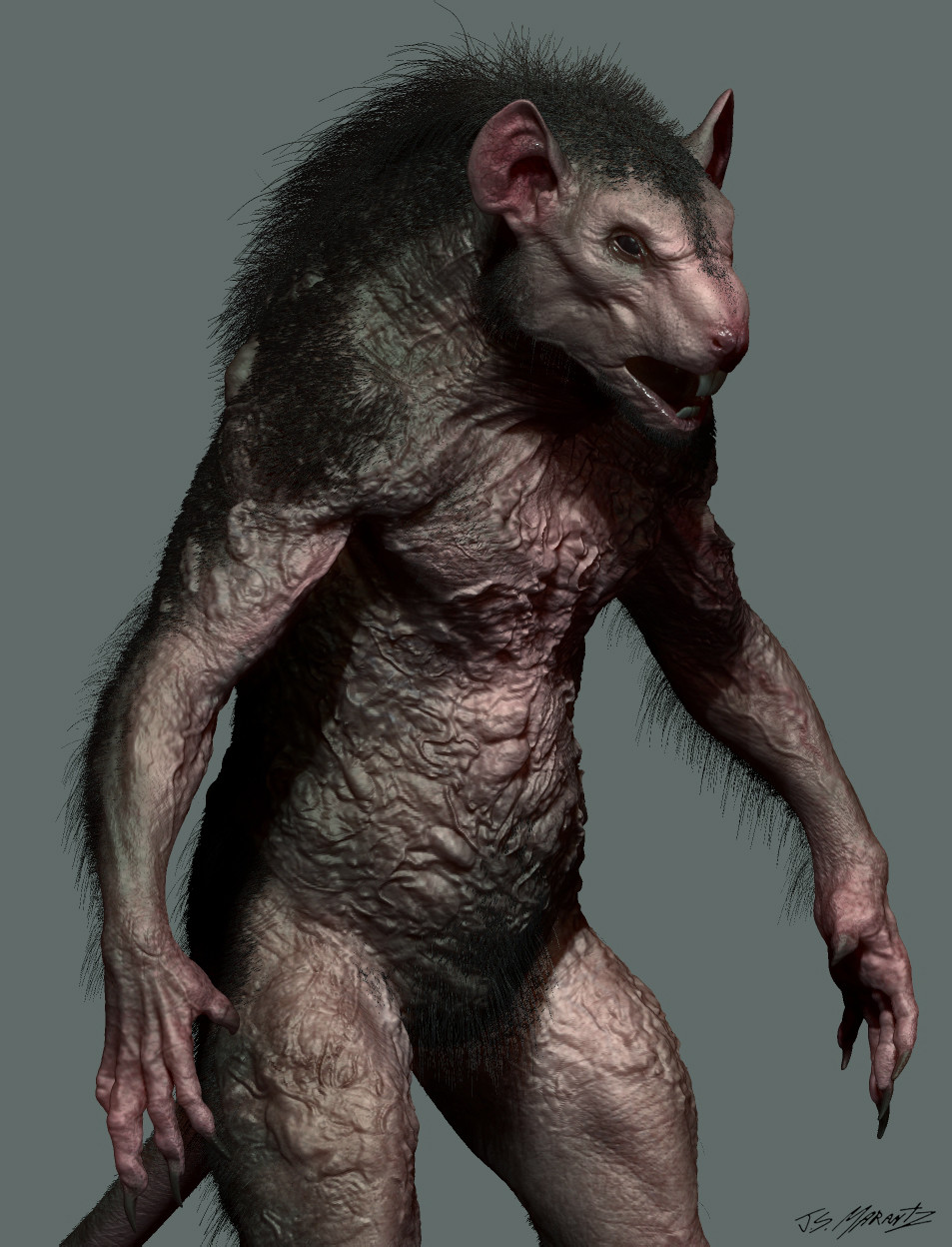 Grimm season 5 Rat King Design