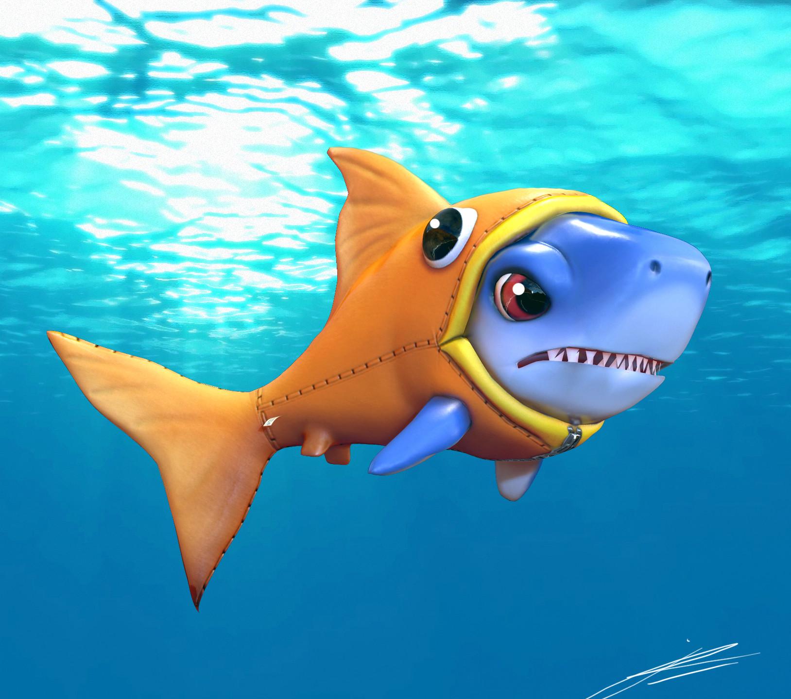Картинки про акулу для детей