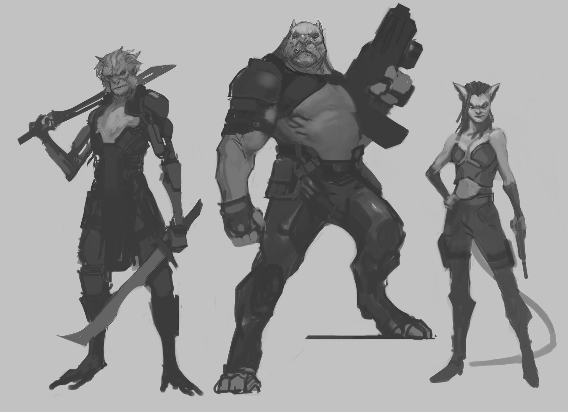 Jerad marantz bounty hunters
