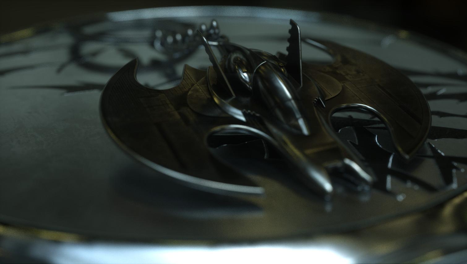 Batwing Key Chain - LootCrate - Fan Art