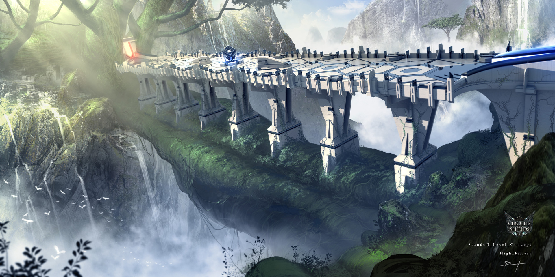 Daniel pellow grand tree gorge level concept 3 3 high pillars final