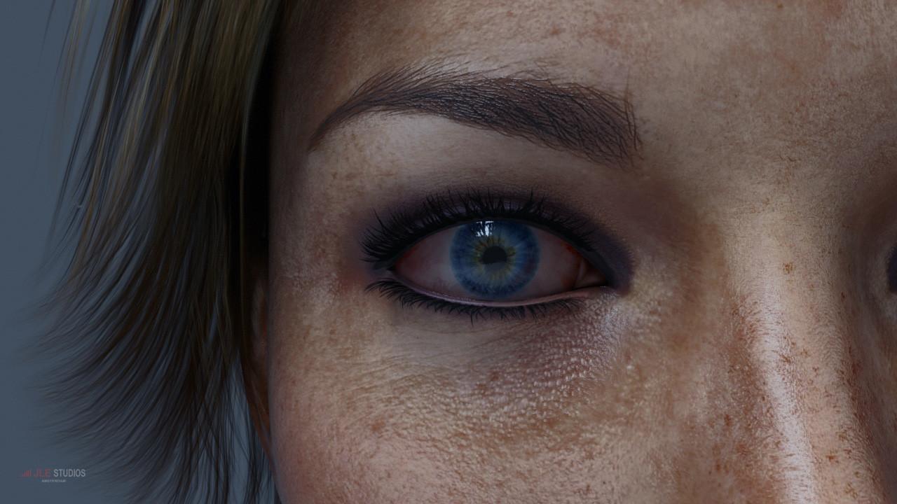 About >> ArtStation - Blender 3D EXR skin texturing, JLE Studios / i-U Asset Studios