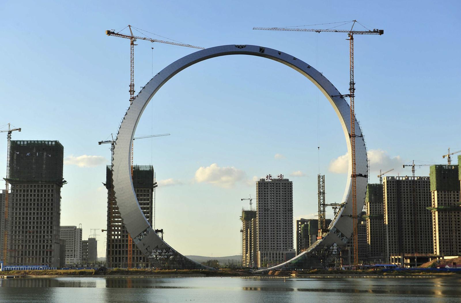 Shenfu ring of life - under construction