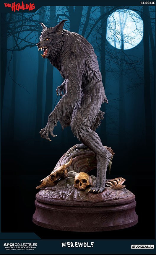 Jesse sandifer the howling 14 scale statue by pop culture shock 15