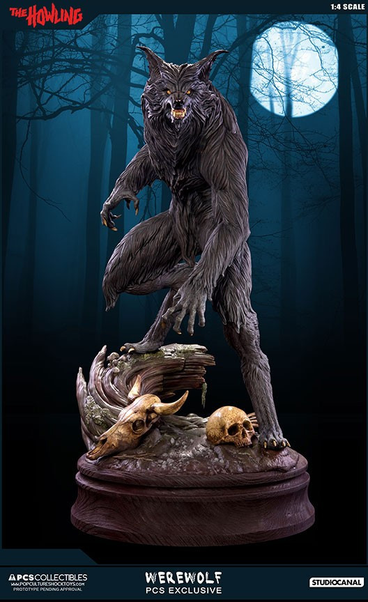 Jesse sandifer the howling 14 scale statue by pop culture shock 5