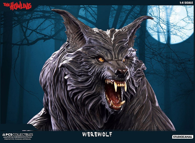 Jesse sandifer the howling 14 scale statue by pop culture shock 10