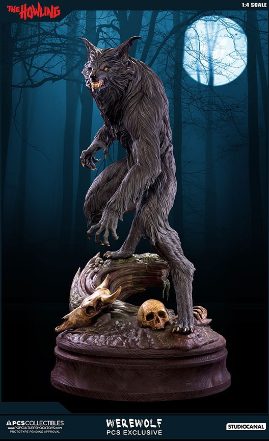 Jesse sandifer the howling 14 scale statue by pop culture shock 7