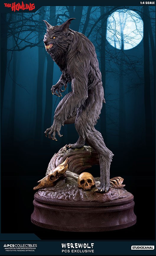 Jesse sandifer the howling 14 scale statue by pop culture shock 8