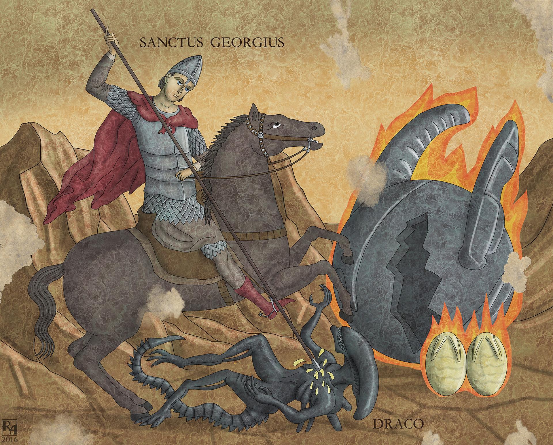 Robert altbauer sanctus georgius