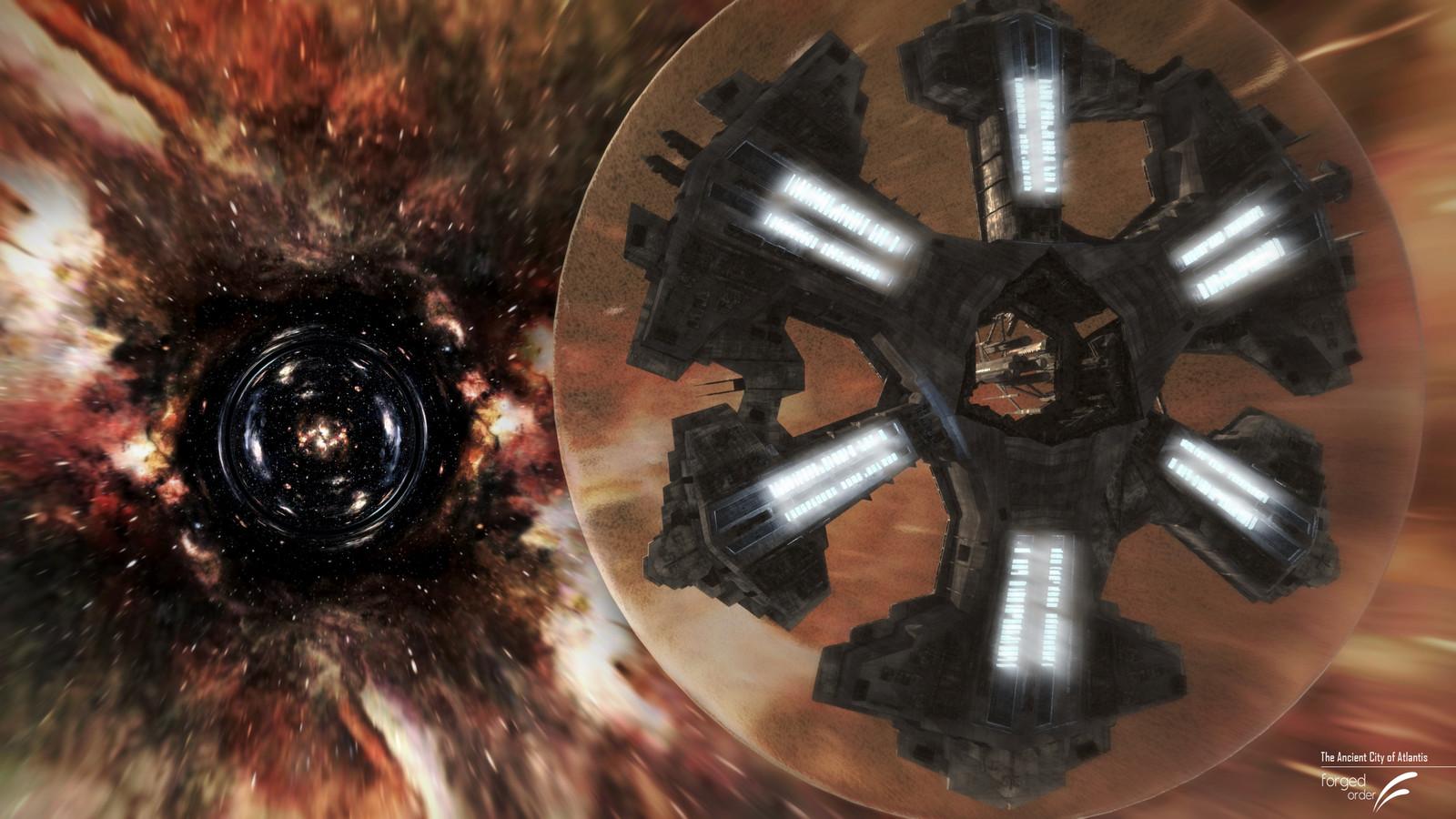 Stargate Atlantis Custom Hyperspace Effect