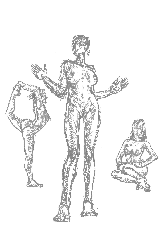 ArtStation - Life Drawings and Anatomy Studies, Stefano Terry