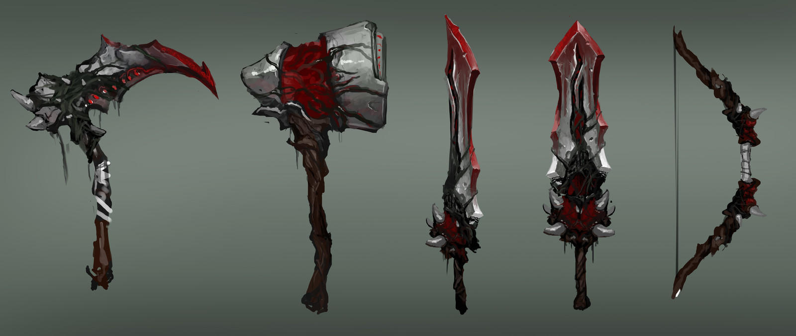 Poison Weapon Concepts