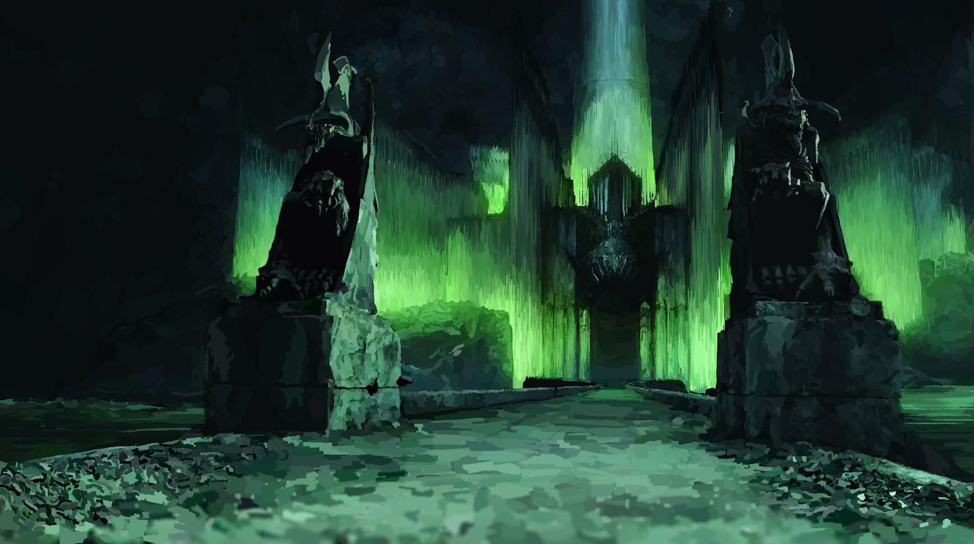 Lord Of Rings Ring Blacj