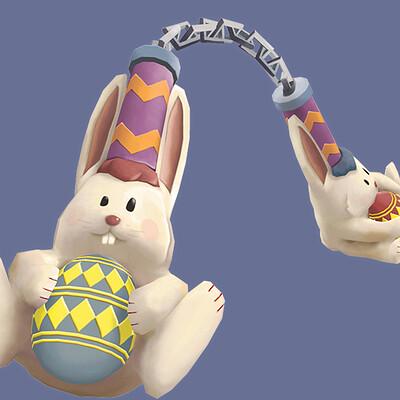 Anthony garcellano bunny nunchucks anthonygarcellano