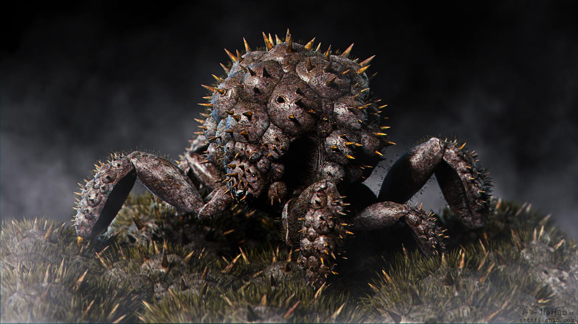 Jia hao 2016 09 spikycrabcreature comp 01 fujif125